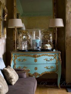 Tiffany Blue French Dresser