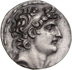 Tetradracma - argento - Antiochia, Siria (121-113 a.C.) - Antioco VIII vs.dx. - Münzkabinett Berlin