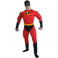 The Incredibles Halloween Costumes are perfect for group costumes. Families who trick or treat together stick together! Dress up the entire family as the super hero family from Disney - The Incredibles.