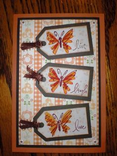 Live Laugh Love - For a Friend by FL Crafter - Cards and Paper Crafts at Splitcoaststampers