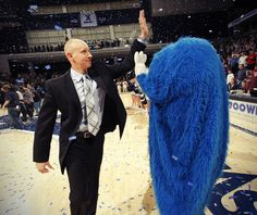 Chris Mack and the Xavier Blue Blob ... Can't wait!!!!