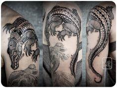 david hale LoveHawk tattoo