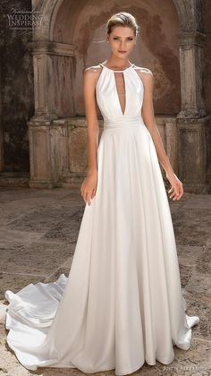 c4e27de176cc 609 Best Halter Wedding Dresses images in 2019 | Bridal gowns ...
