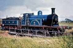 Caledonian Railway No. 123 at Silloth in 1964 Locomotive Diesel, Steam Locomotive, Train Bed, Best Wagons, Railroad Pictures, Steam Railway, Rail Car, British Rail, Old Trains