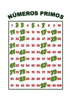 LEARNING IS FUN!: NÚMEROS PRIMOS