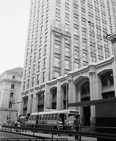 Atlanta's last major construction project prior to World War I, the Healey Building, was commissioned by real estate developer William T. Healey. Walter T. Downing, known for his eclectic style and love of detail, designed the Healey with its ornate cathedral-like rotunda and impressive domed lobby.