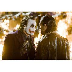 The Joker Dark Knight Movie Sending A Message Gallery Print