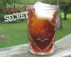 Restaurant Style Sweet Tea Secret Ingredient