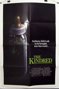 THE KINDRED - ROD STEIGER / KIM HUNTER - ORIGINAL AMERICAN 1SHT MOVIE POSTER