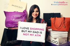I love shopping but my dad is not my ATM - The TrulyMadly Blog