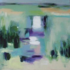 Beyond the Illusion by Lyn Marie Whiteman from her Shifting Tides exhibition at Harbour House, March 2015