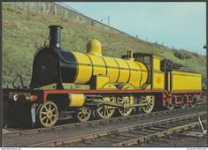 Highland Railway Locomotive No 103 - J Arthur Dixon Postcard