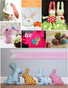 Links to our favourite free sewing patterns for Easter