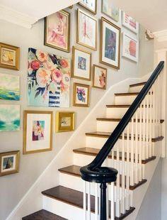 30+ Beautiful Gallery Wall Decor Ideas To Show Photos   Pinterest