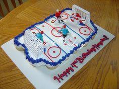 Icehockey cake