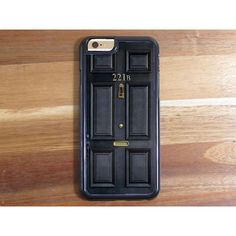Sherlock Holmes 221B Baker Street Fan Inspired Phone Case iPhone 6... (£10) ❤ liked on Polyvore featuring accessories and tech accessories