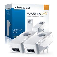 DEV-9294  dLAN 550 duo+ (1 adaptador PLC 550Mbps con enchufe)