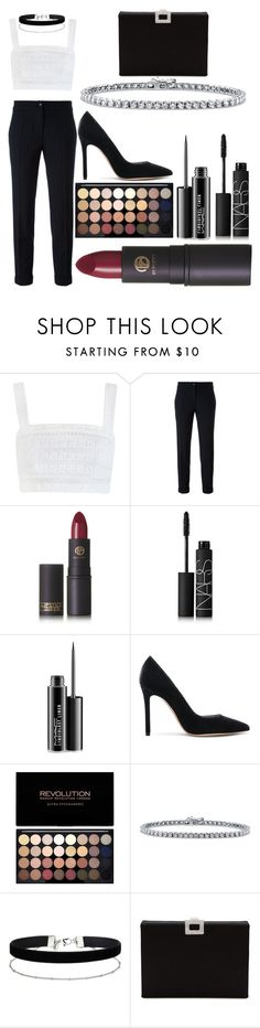 """Untitled #303"" by renzoe ❤ liked on Polyvore featuring Zimmermann, Etro, Lipstick Queen, NARS Cosmetics, MAC Cosmetics, Gianvito Rossi, BERRICLE, Miss Selfridge and Roger Vivier"