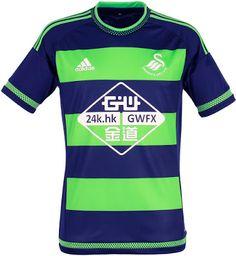 af7449494 Swansea city afc away kit 2015 16 Swansea Football