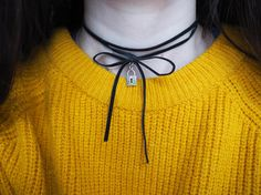 Uk Shop, Handmade Silver, Cord, Chokers, Velvet, Charmed, Jewellery, Pendant, Cable