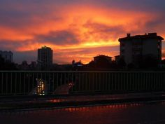 Sunset in Istanbul....feb 2013