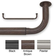 Barricade 96 to 144-inch Adjustable Energy Efficient Window Curtain Rod -  off the rack and it looks good