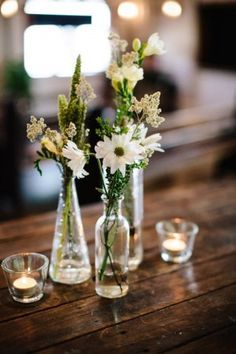 General idea for simple centerpieces