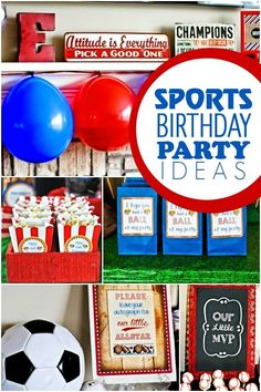 Sports Party Ideas From Spaceships And Laser Beams!