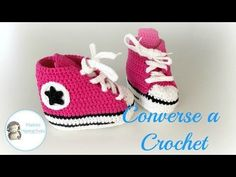 Zapatillas Converse a Crochet, Vídeotutorial - YouTube