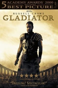 Gladiator R - Stars: Russell Crowe, Joaquin Phoenix, Connie Nielsen. - When a Roman general is betrayed and his family murdered by an emperor's corrupt son, he comes to Rome as a gladiator to seek revenge. See Movie, Film Movie, Epic Movie, Epic Film, Movie List, Movies Showing, Movies And Tv Shows, Gladiator Movie, Movie Posters