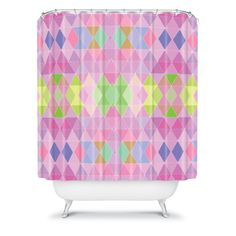 Lisa Argyropoulos Carnival Shower Curtain