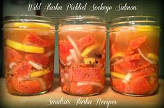 Newly created recipes and traditional favorites featuring wild Alaska salmon, seafood, venison.moose, and waterfowl ~ Sandra's Alaska Recipes