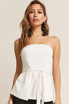 234b26a4bb Belted Tube Top Tube Tops