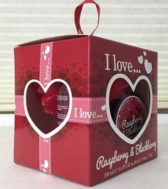 I Love Raspberry & Blackberry Bath Set Mini Box of Valentine Love NIB Sealed #ILove