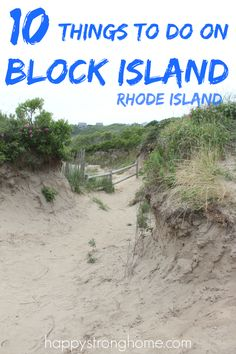 10 things to do on block island for a weekend trip or day trip - perfect for honeymoon, vacation, or couple's retreat, there are so many spots to see, things to do, and eat! Island travel was never so easy and fun!