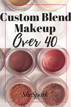 The custom blend cosmetics line perfect for over-40 skin.