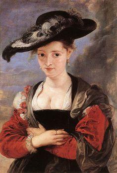 Girl with a Red Hat Elisabeth Vigee-Lebrun