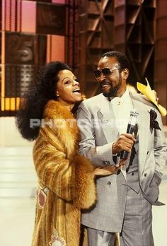 Diana Ross and Marvin Gaye.                              …                                                                                                                                                                                 More