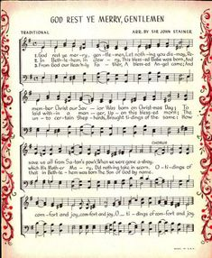Make your holiday decorating and gift giving easy with these free printable vintage Christmas sheet music pages! Just print and frame for easy decor and gifts. Glass Christmas Balls, Christmas Tree Dress, Christmas Sheet Music, Music Page, Vintage Music, Vintage Style, Antique Christmas, Christmas Projects, Christmas Ideas