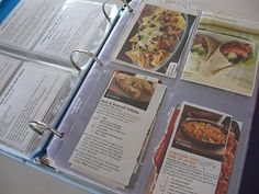 Meal Planning a year in advance - NOW that is ORGANISED!!!  Might have to look at doing something similar to this (maybe month in advance) as our next posting will be away from good shops etc.