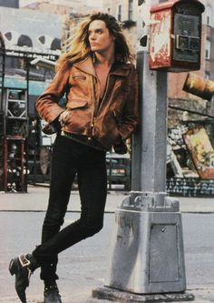 Sebastian Bach from the band Skid Row.
