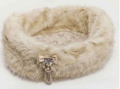 Champagne Faux Fur Bed