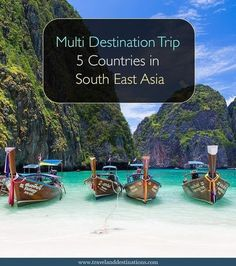 A blog post on going on a multi destination trip to visit five countries in South East Asia. Including Thailand, Cambodia, Vietnam, Malaysia and Indonesia. With each destination you will find some highlights, hotel suggestions and a how long you should stay for. Towards the end of the post are some general travel tips. #southeastasia #asia #thailand #cambodia #vietnam #indonesia #malaysia #travel #blog #budgettravel #vietnamtravel #asiatravel #thailandtravel