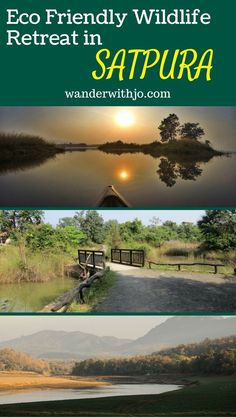 Satpura national park in Central India is a mecca for wildlife and nature lovers...and Denwa backwater escape is THE place to stay while there. One of the best and largest national parks of India, it is abundant in flora , fauna and offers tons of activities for outdoorsy peeps.