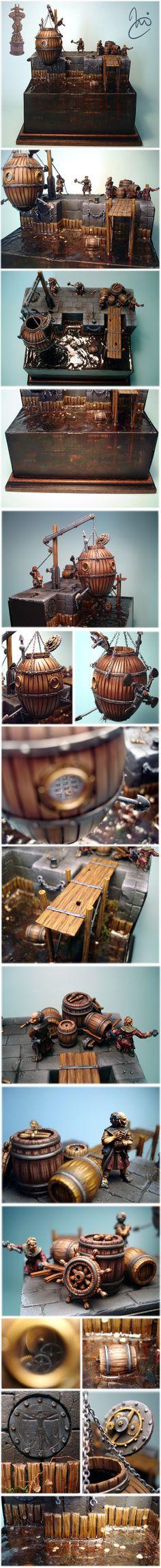 Games Day Germany 2006 Bronze Diorama: Leonardo DeMiragliano´s Answer...