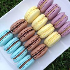 Macaroons, Diy, Macaroni, Macarons, Bricolage, Do It Yourself, Homemade, Diys, Almond Cookies