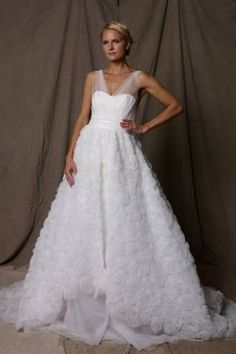 I just listed my Lela Rose - New wedding dress for sale. Check it out.