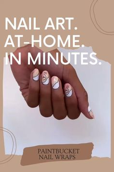 Get our high design nail art at-home with Paintbucket nail wraps. Apply yourself for a salon worthy manicure in minutes. Red Christmas Nails, Nail Art At Home, Abstract Nail Art, Finger Nail Art, Modern Nails, Nail Polish, Nail Nail, Dope Nails, Nail Shop