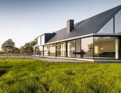 Bright Contemporary Bungalows : villa geldrop by hofman dujardin