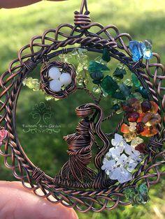 Naturaleza la madre tierra día Gaia diosa embarazada árbol de